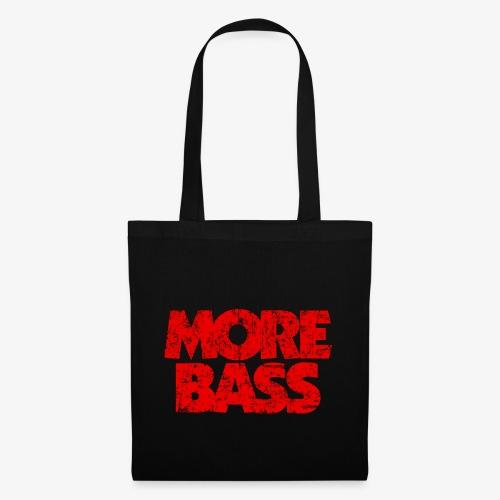 More Bass (Vintage/Rot) Bassist Bassisten - Stoffbeutel