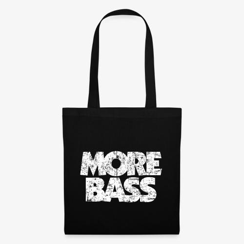 More Bass (Vintage/Weiß) Bassist Bassisten - Stoffbeutel