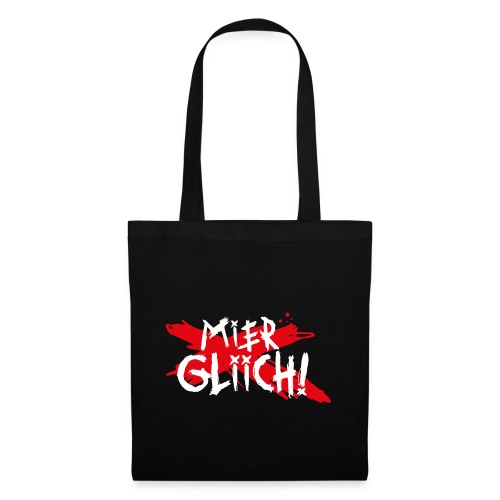 MIER GLIICH! - Stoffbeutel