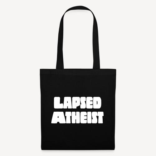 LAPSED ATHEIST - Tote Bag