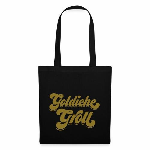 Goldiche Grott - Stoffbeutel