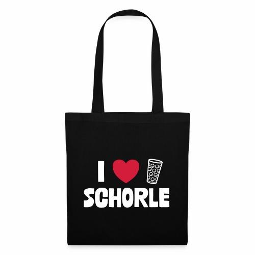 I love Schorle & Dubbe Schobbe - Stoffbeutel