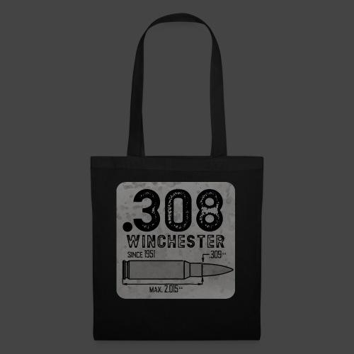 kaliber 308 quadrat - Stoffbeutel
