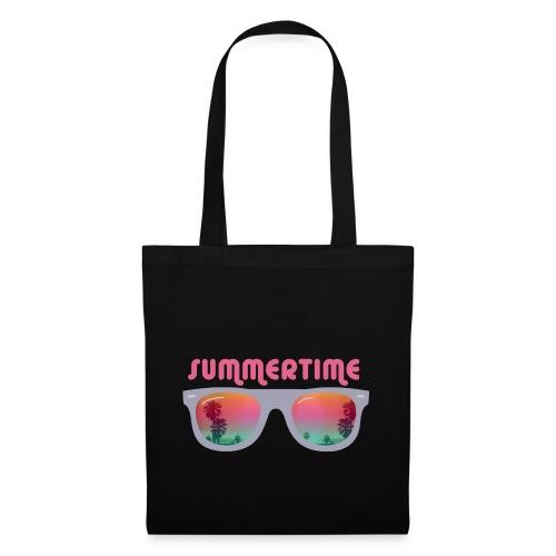 summertime sunglasses - Torba materiałowa