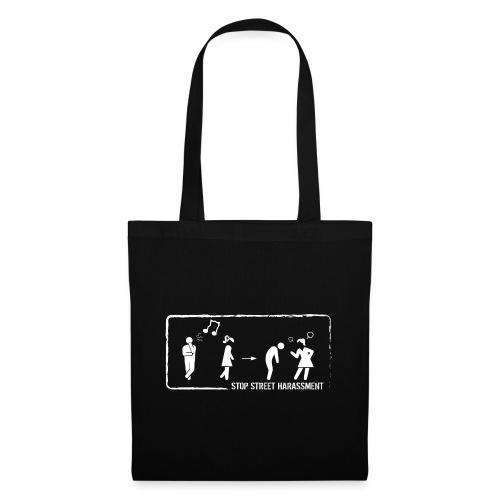 Stop street harassment: whistling - Tote Bag