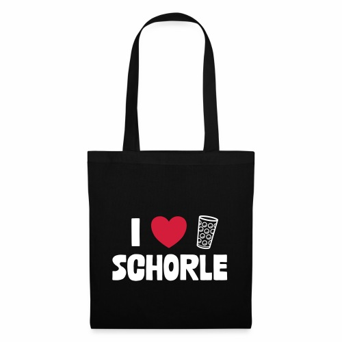 I love Schorle & Dubbeglas - Stoffbeutel