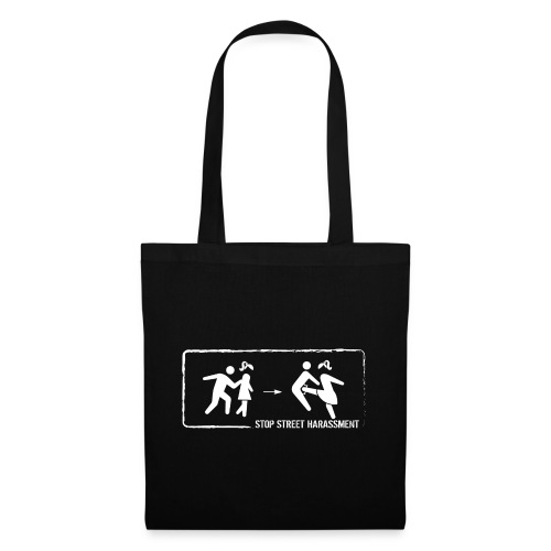 Stop street harassment: We don't touch! - Tote Bag