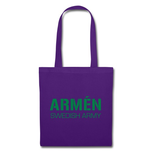 ARMÉN -Swedish Army - Tygväska