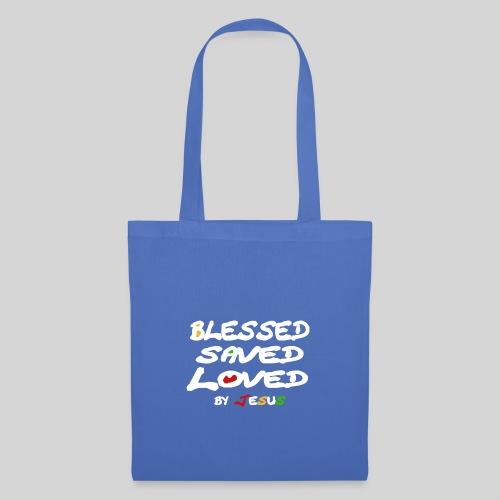 Blessed Saved Loved by Jesus - Stoffbeutel