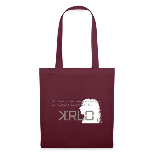 Camisetas Kirlo Sin Ti - Bolsa de tela