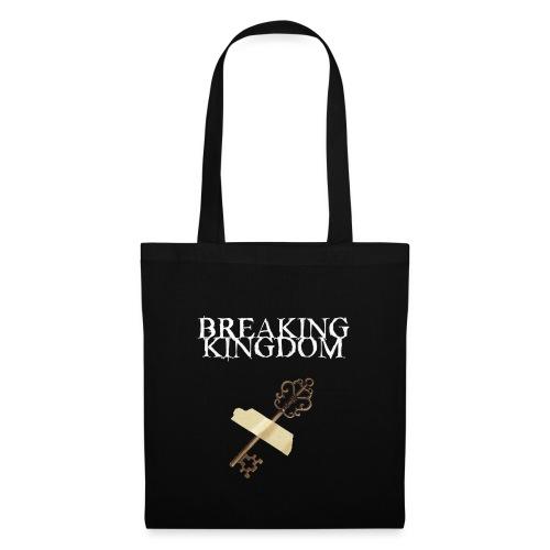 Breaking Kingdom schwarzes Design - Stoffbeutel