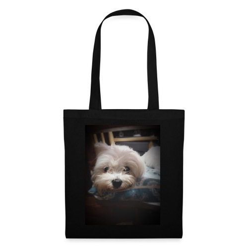 Pure White Pup - Tote Bag