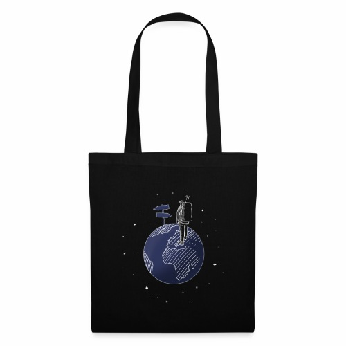 walk on the world - Tote Bag