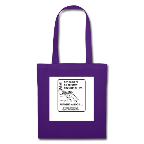 reading book - Tote Bag