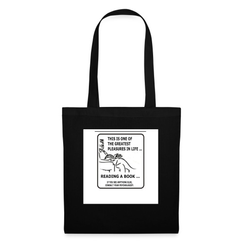 reading book - Tote Bag