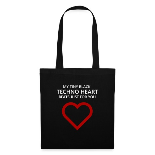 Technoheart Valentine´s - Stoffbeutel
