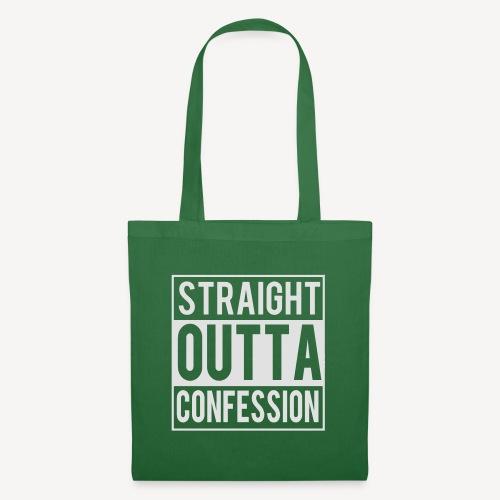 STRAIGHT OUTTA CONFESSION - Tote Bag