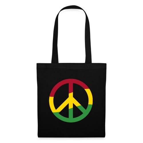 Peacezeichen Rastafari Reggae Musik Frieden Pace - Tote Bag