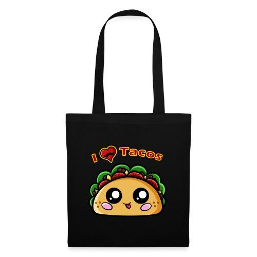 I Love Tacos - Sac en tissu