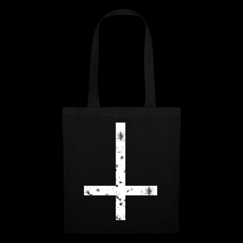 inverted cross white png - Tote Bag