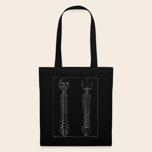 Skeleton white - Tote Bag