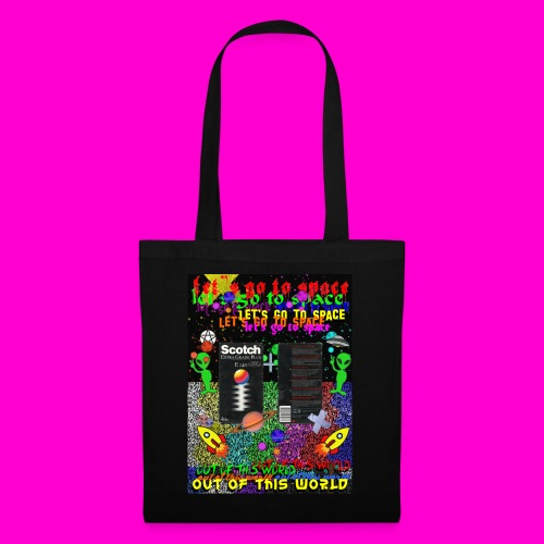LET S GO TO SPACE - Tote Bag