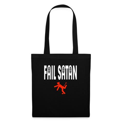 Fail Satan (White text) - Tygväska