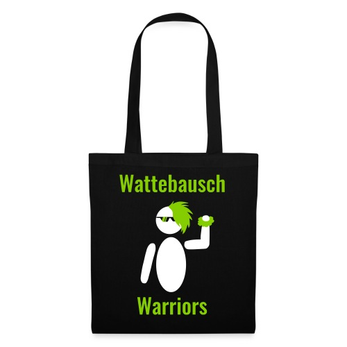 Wattebausch Warriors Grün II - Stoffbeutel
