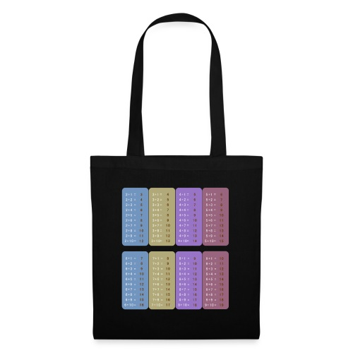 Table d'addition - Tote Bag