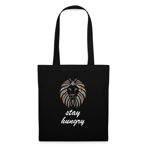 Stay Hungry T-shirt and accessoires - Borsa di stoffa