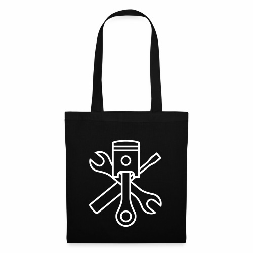 Pistons and tools 1c (+ your text) - Tote Bag