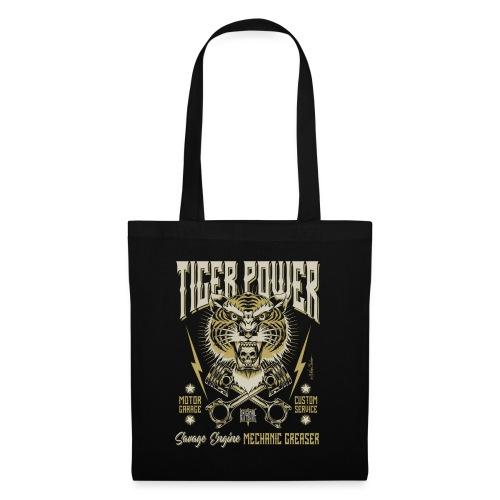 Poder del tigre - Bolsa de tela