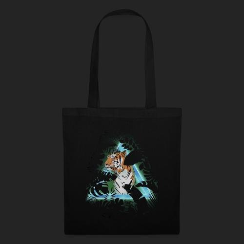 Tigre en soirée - Tote Bag