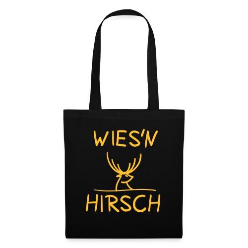 Wiesn Hirsch! Oktoberfest - Stoffbeutel