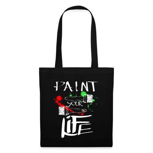 paint life - Borsa di stoffa