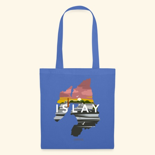 Islay Dusk Whisky T-Shirt Design - Stoffbeutel