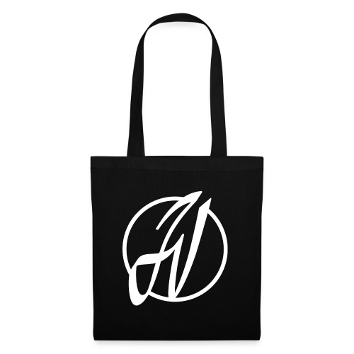 JV Guitars - logo blanc - Tote Bag