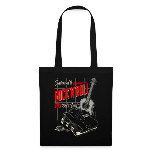 Condenado al Rock and Roll - Bolsa de tela