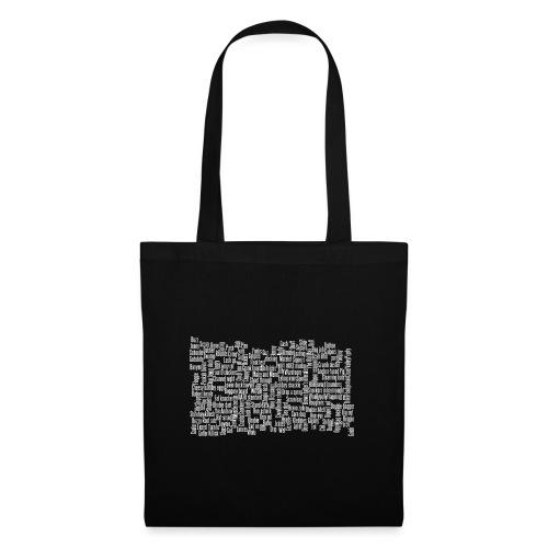 Jackspeak (white) - Tote Bag