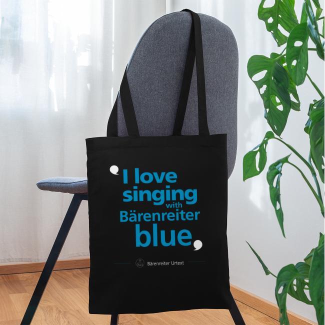 """""""I love singing with Bärenreiter blue"""""""