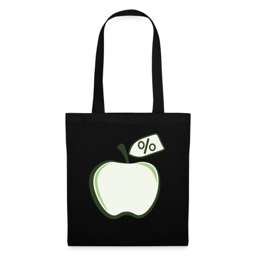 Sund på budget logo til mørke produkter - Mulepose