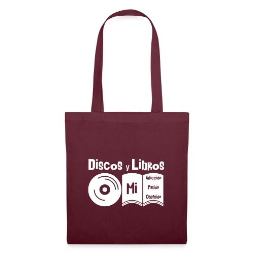 Discos y Libros - Bolsa de tela