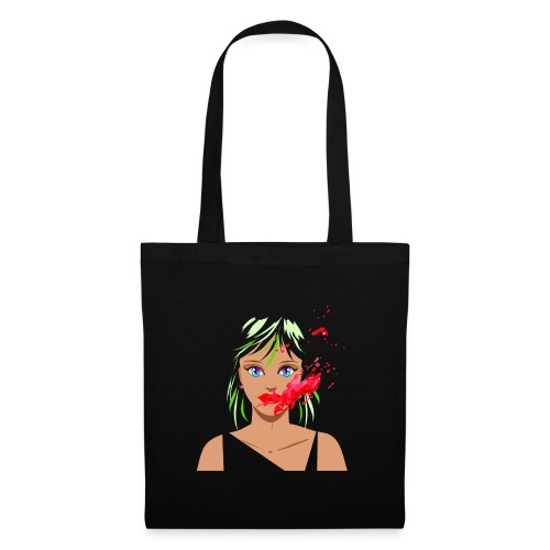 Horror clown woman - Borsa di stoffa