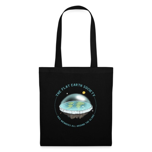 flat earth threadless - Tote Bag