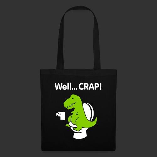 Well crap T-rex - Tygväska