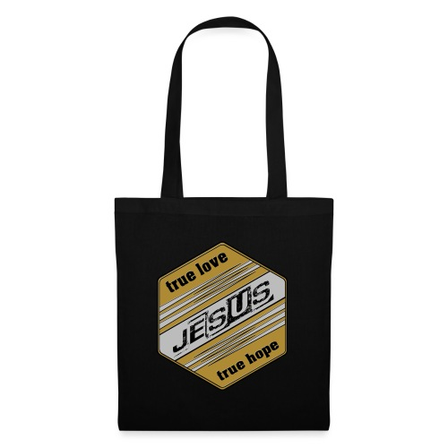 jesus 6eck - Stoffbeutel