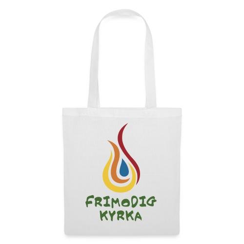 logo Frimodig Kyrka - Tygväska