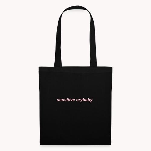 Sensitive crybaby - Bolsa de tela