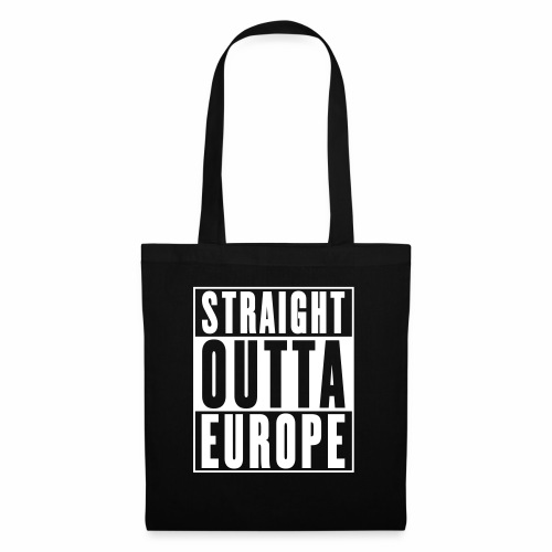 Straight Outta Europe - Tote Bag