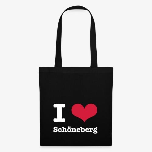 I love Schöneberg - Stoffbeutel
